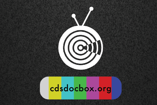 A graphic featuring a logo for CDS DocBox