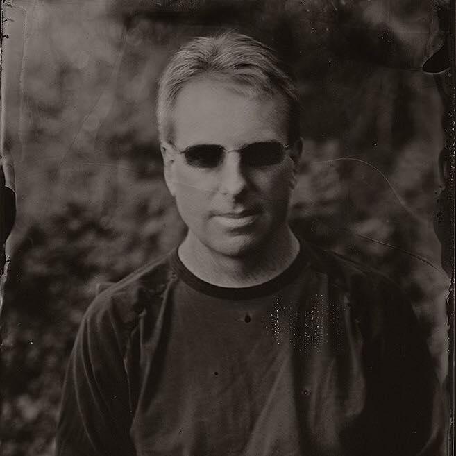 Tin type photo of Allen Creech