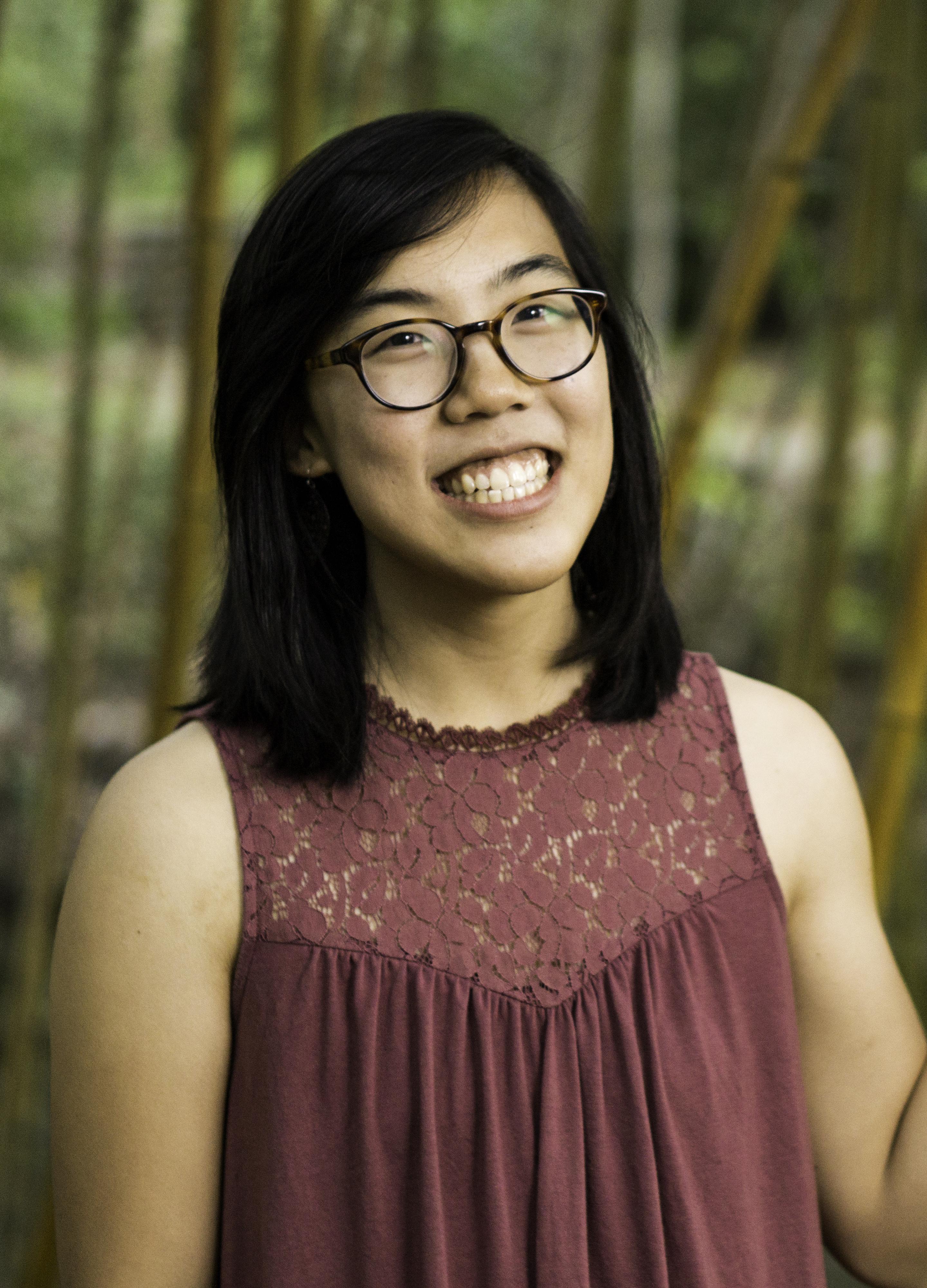A headshot of Katelyn Liu.