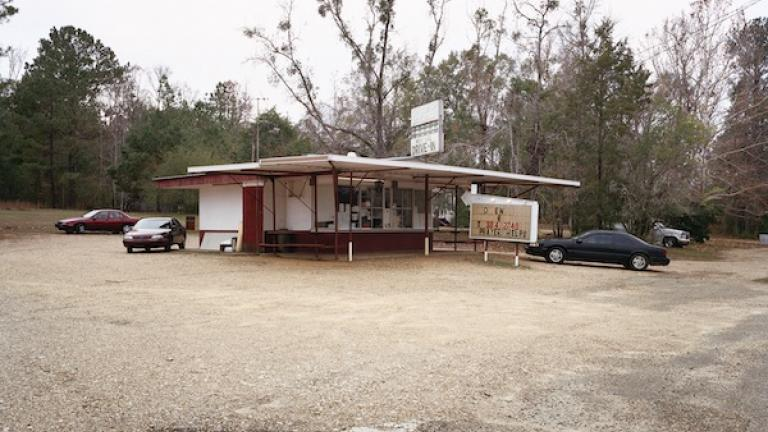 Tasti Freeze, now the Westside Drive-In, Meadville, Mississippi, 2005