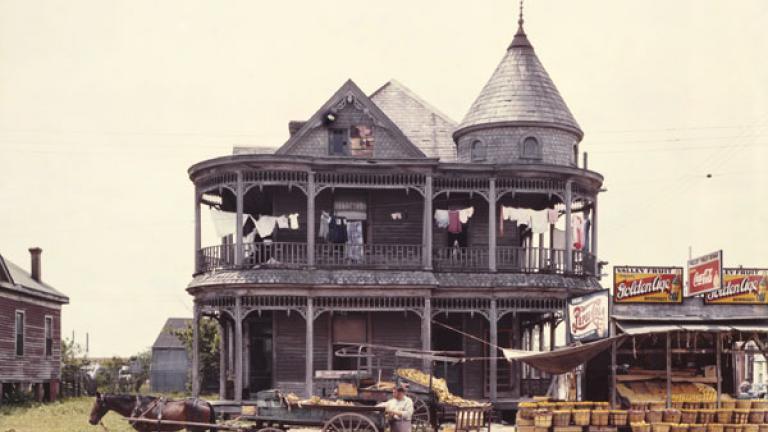 JOHN VACHON. House, Houston, Texas. May 1943.