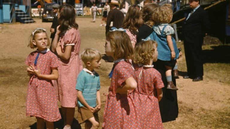 JACK DELANO. Vermont state fair, Rutland. September 1941.