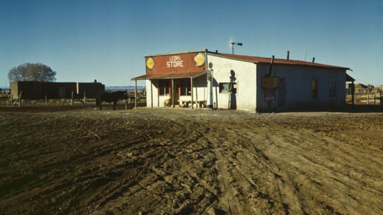 JOHN COLLIER. General store, near Questa, Taos County N[ew] Mex[ico]. Spring 1943.