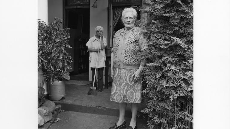 Cape Town, circa 1970. Jenny Gordon.