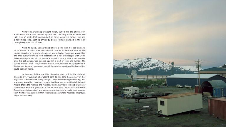From City Under One Roof, Whittier, Alaska, 2011–12. Photograph by Jen Kinney, winner of the 2013 Lange-Taylor Prize.