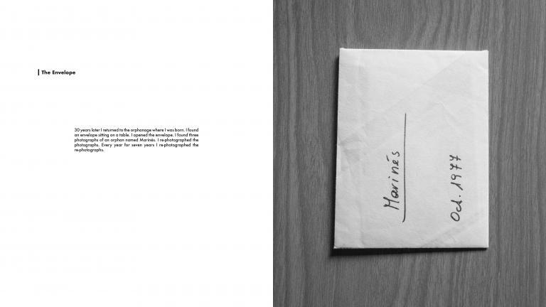 The Envelope 1 (diptych), October 1977, Lima, Peru/Lima, Peru, 2014