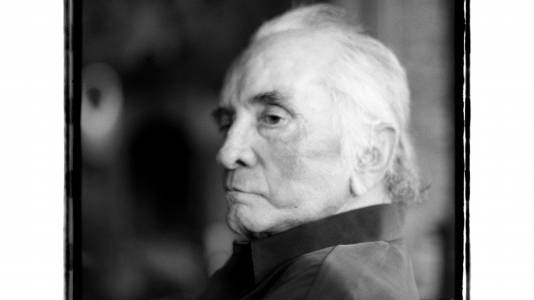 Final portrait of Johnny Cash, September 8, 2003, four days before he died