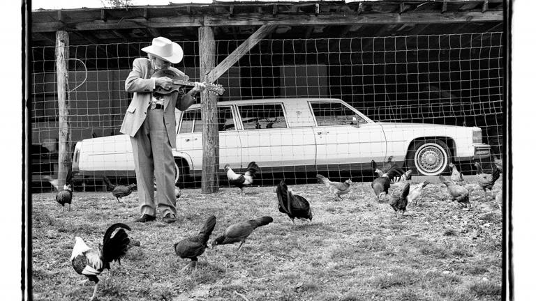 "Bill Monroe, ""Chicken Reel,"" 1997"