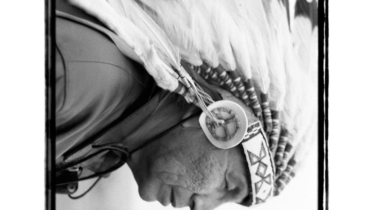 Orville Looking Horse, Lakota keeper of the sacred pipe, 2005