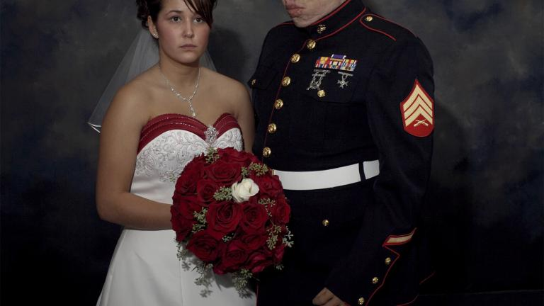 Marine Wedding, Metamora, Illinois, 2006