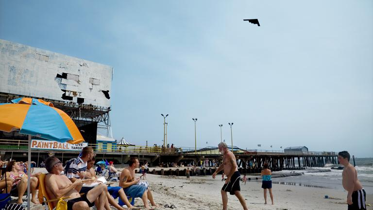 Stealth Bomber, Atlantic City, New Jersey, 2007