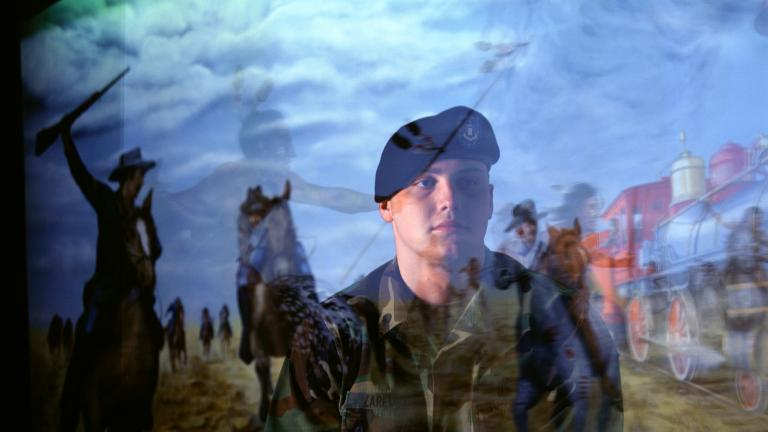 Spc. Adam Zaremba, Ft. Riley, Kansas, from Purple Hearts, 2004