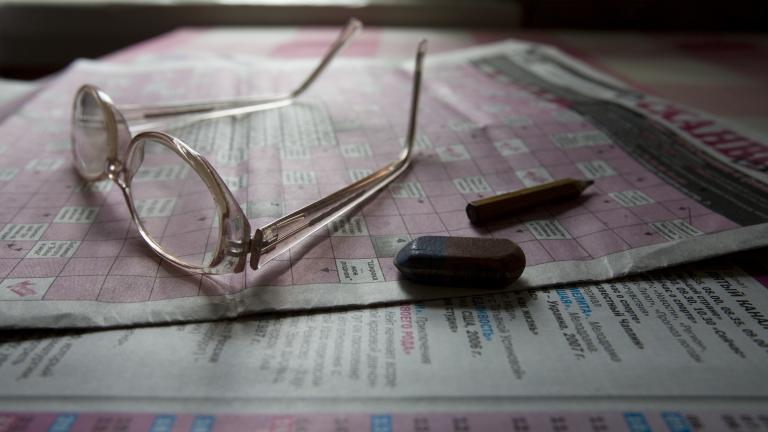 Still life with glasses, 2009. Photograph by Nadia Sablin, winner of the 2014 CDS/Honickman First Book Prize in Photography.