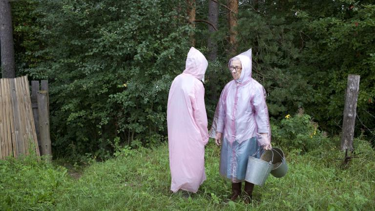 Raincoats, 2013. Photograph by Nadia Sablin, winner of the 2014 CDS/Honickman First Book Prize in Photography.