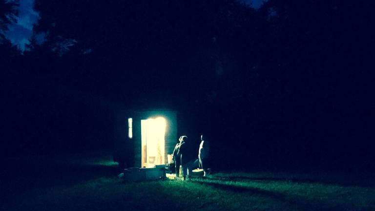 SSZ at night in Alamance County, North Carolina.