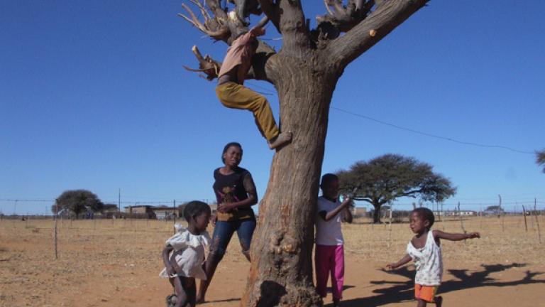 Children, Metlagole, North West
