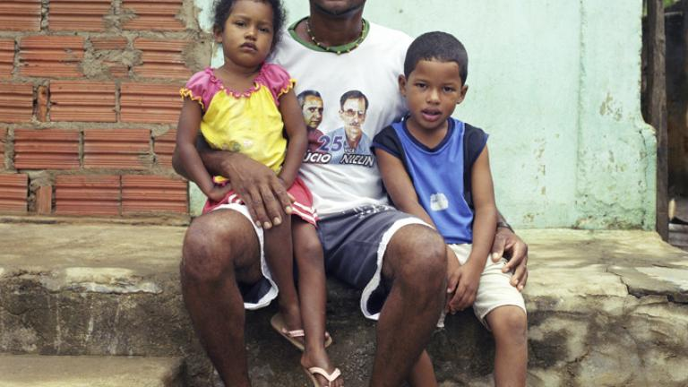 Dear Children, Gustavo and Isabel, The reason I have to go away so often is that things around here are really difficult. I worry a lot about your future. So, for this reason, your father leaves to work and to seek a better life for us.--Silvano