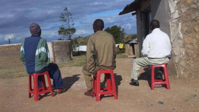 Unemployed men, Unkunkulu, Kwa Zulu-Natal