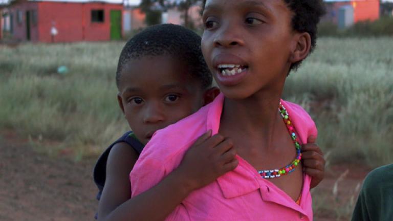 Children, Vleifontein, Northern Cape