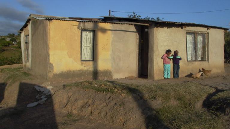Late afternoon, Unkunkulu, Kwa-Zulu Natal
