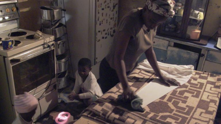 Ironing and keeping warm, Unkunkulu, Kwa-Zulu Natal