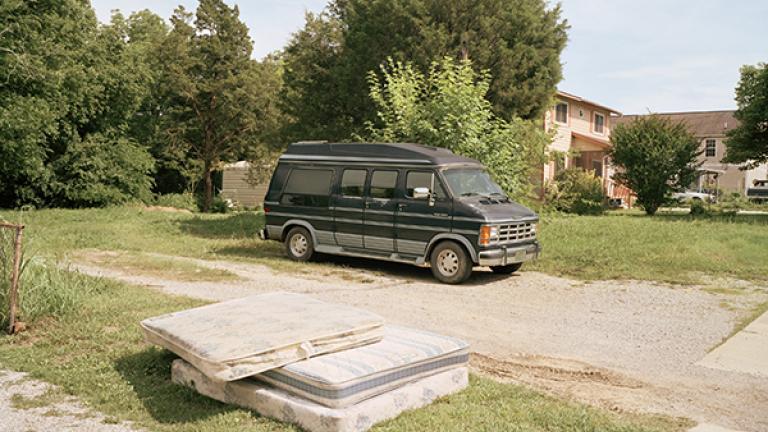 SiteofMattieGreen'sMurder,Ringgold,Georgia,2011. Photograph by Jessica Ingram.