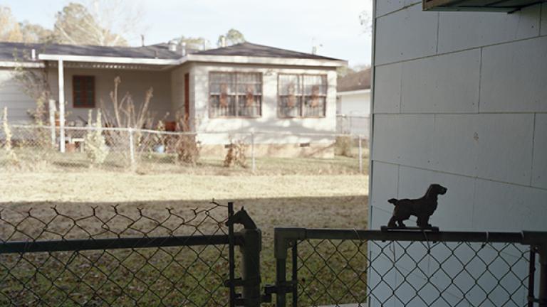 MedgarEvers'backyard,Jackson,Mississippi,2007. Photograph by Jessica Ingram.