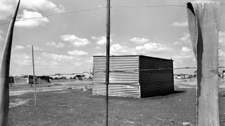While some residents are busy upgrading their structures with mud and cement brick, the majority of people continue to live in shacks.