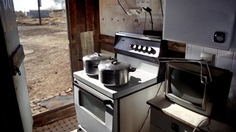 Despite a shack's appearance, it is not uncommon to find modern appliances filling its interior. These appliances are used in some homes, but for most people they prove too expensive to keep plugged in.