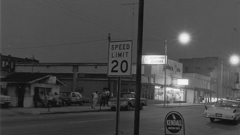 Broad Street, 1972. Photograph by Paul Kwilecki.