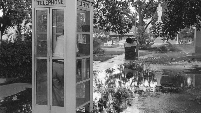 Willis Park, 1976. Photograph by Paul Kwilecki.