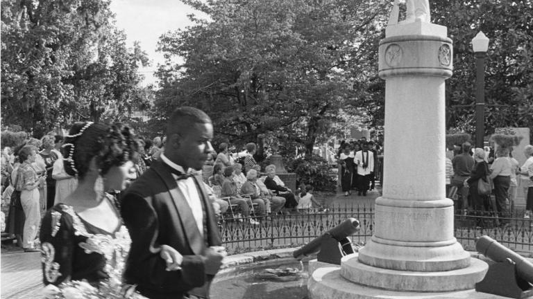 Junior-Senior Prom, Willis Park, 1994. Photograph by Paul Kwilecki.