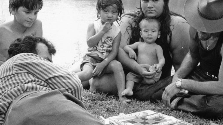 Flint River, 1991. Photograph by Paul Kwilecki.