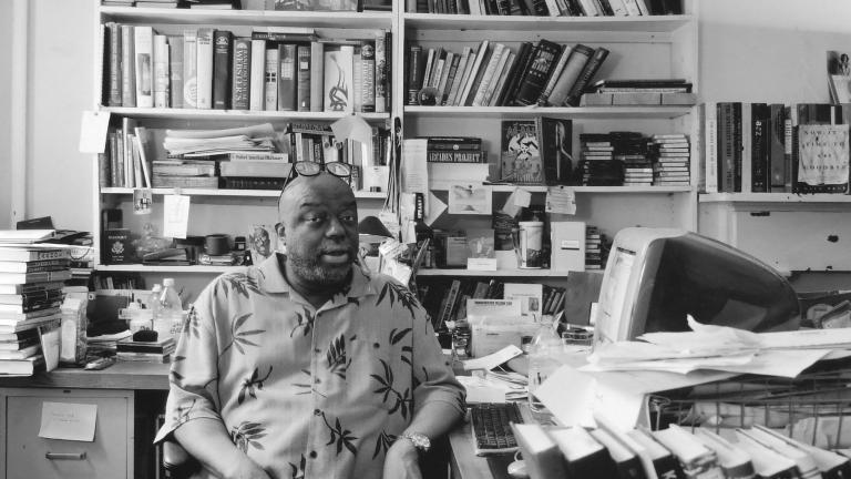 Stanley Crouch, writer, Manhattan, 2003