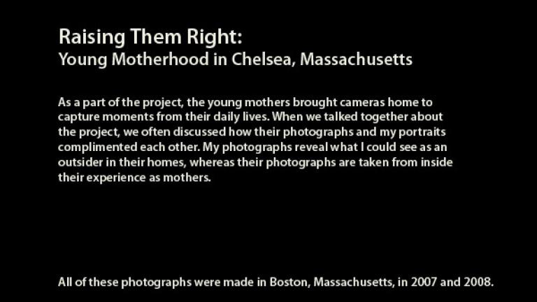 Raising Them Right: Polaroids