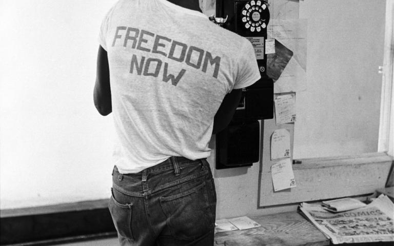 A Freedom Summer worker in Mississippi, 1964. Photo by Steve Schapiro.