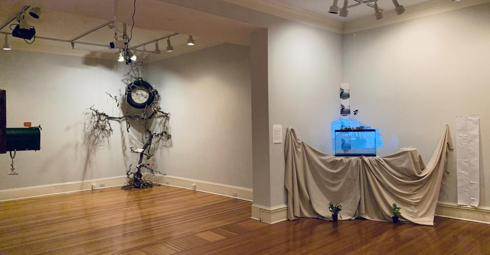 Photo of the installation. Photo by Mara Guevarra.