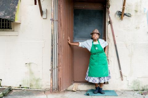 Mama Ruth, New Providence, Bahamas 2015. Photo by Tamika Galanis,