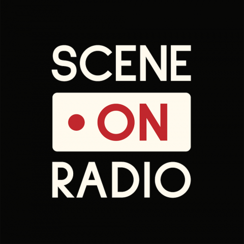 the Scene on Radio logo as designed by Mara Guevarra