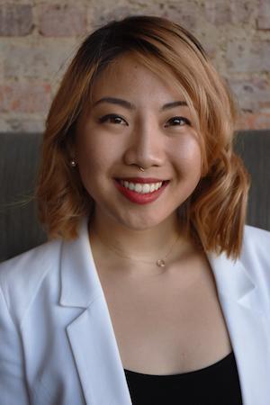 A portrait of Jeainny Kim.