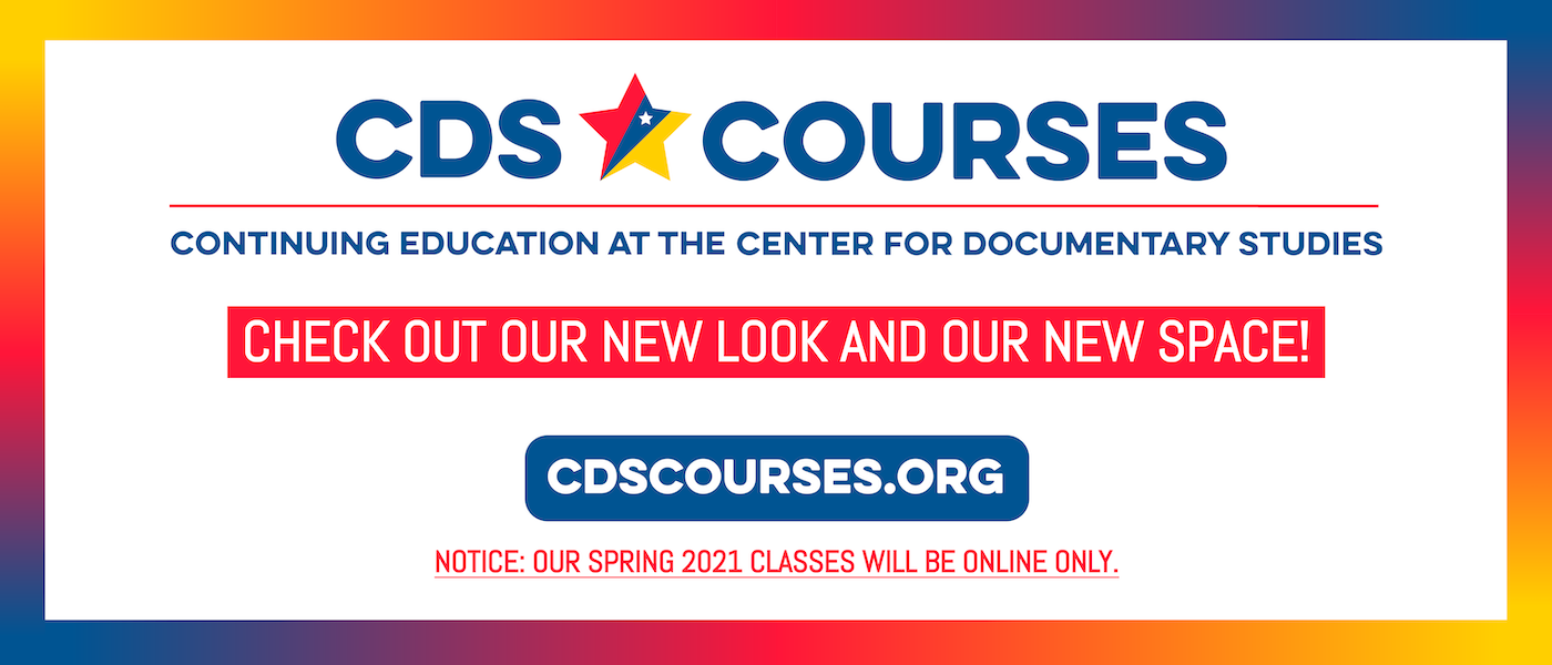 Check out our new look and our new space at CDSCourses.org - Notice: Our spring 2021 classes will be online only.