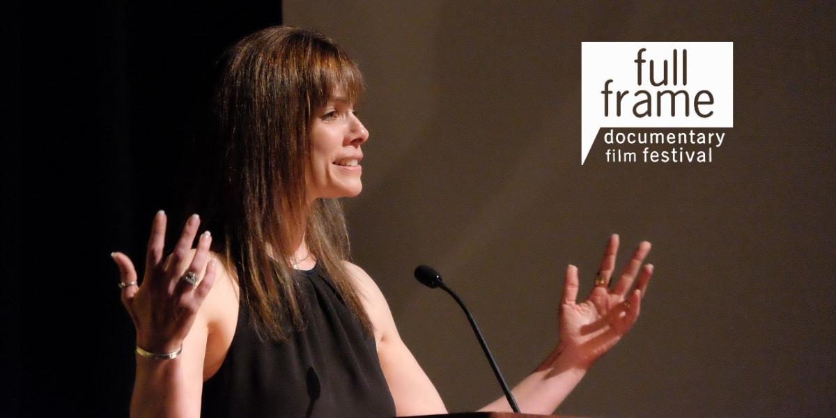 Full Frame Documentary Film Festival Director Deirdre Haj, who will step down in March 2021