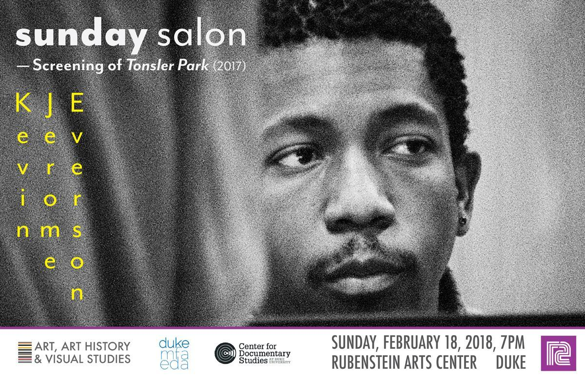 Sunday Salon screening of Tonsler Park (2017) by Kevin Jerome Everson