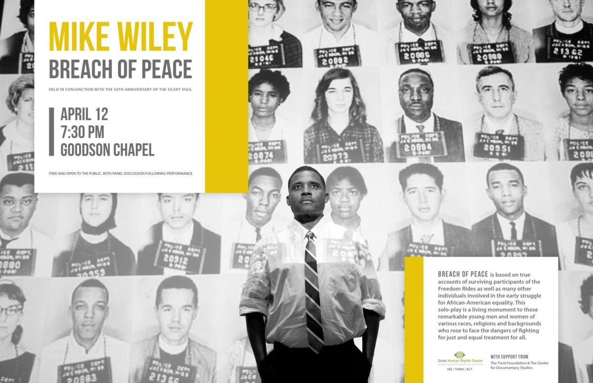 Breach of Peace, a Performance by Mike Wiley