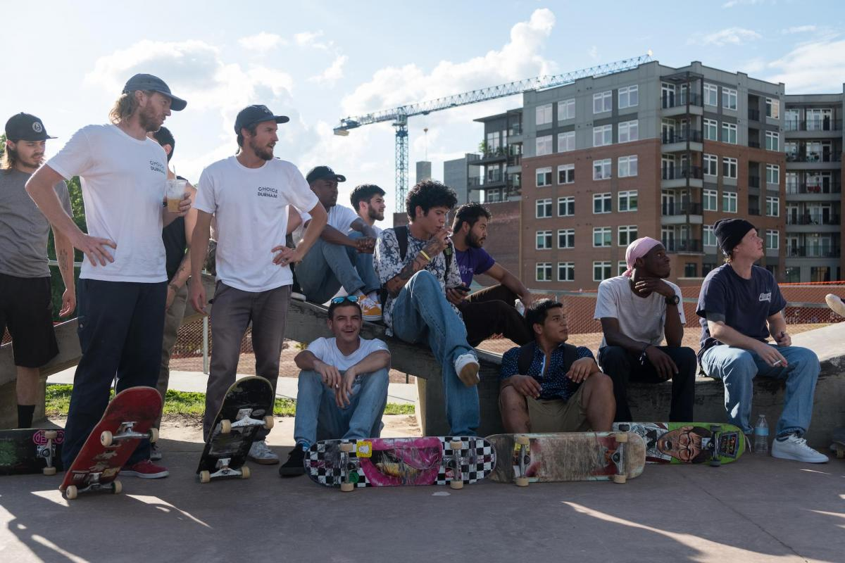 Durham, NC, skateboarders
