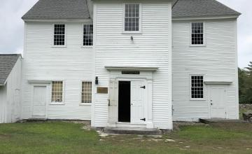 Pelham Town Hall, Pelham, Massachusetts. Photo by John Biewen.