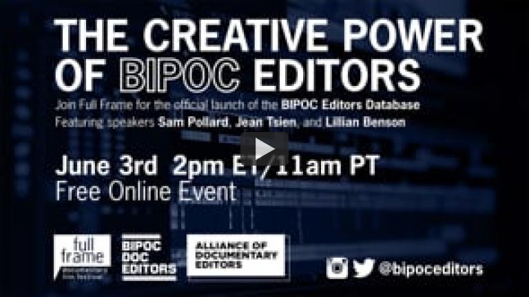 The Creative Power of BIPOC Editors